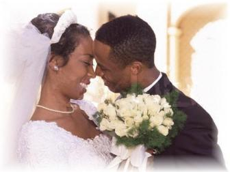 Black Nigerian wedding