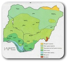 About Nigerian Geography