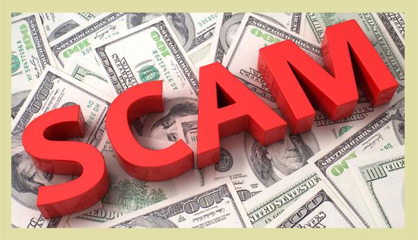 Inheritance scam.