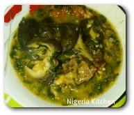 Nigerian Nsala soup
