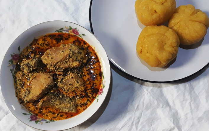 Foods eaten in Nigeria