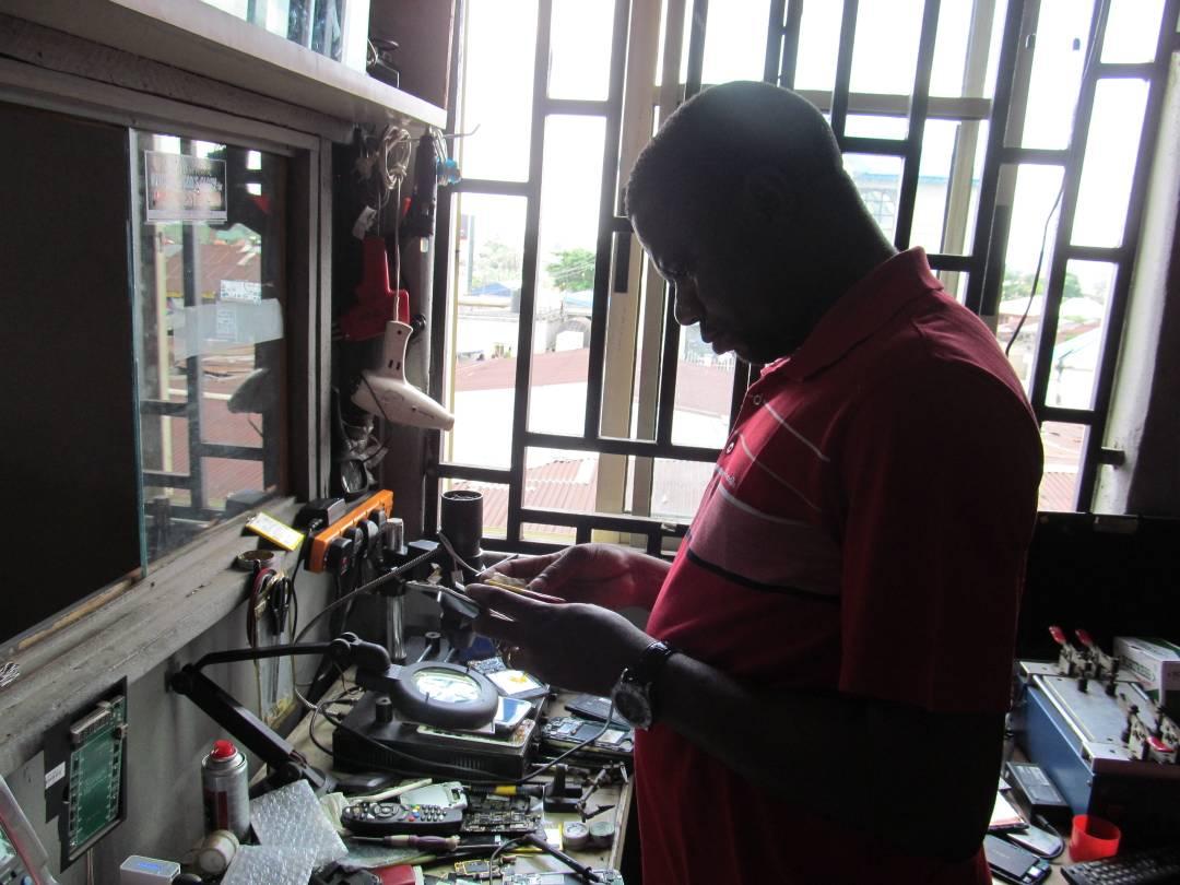 Phone repair guy